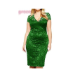 5 Colors Women Lace Hollow Out Elegant Summer Dress Embroidery V-neck Sexy Fashion Clothing Haut High Quality Party Dress M33
