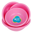[Jingdong Supermarket] Camellia washbasin 30CM plastic pots household clean vegetable bowl 0506