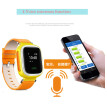 Elegance SOS call GPS Tracker children Smart Watches wristwatches w/Satellite monitoring Remote alarm pedometer take-off alarm For child kid