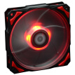 ID-COOLING PL-12025-R LED red high-performance chassis fan 800-2200 temperature control with shock pad