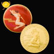 Sexy Marilyn Monroe smile commemorative coin gold-plated love coin collection