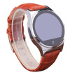 Fashion Circular HD Screen Bluetooth Smart Watch Phone with Heart Rate Monitor/ Pedometer/ Sleep Moniror/ Phone Book/ Compass