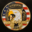 American 101st Airborne Division Commemorative Coin Flying Eagle Challenge Gold Coin Art Collection Exquisite Silver Coins Gift
