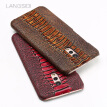 Genuine Leather Phone Case For Vivo X Play 6 Case Ostrich Foot Texture Back Cover For X9 X9s X20 Plus Case