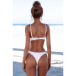 M&M Sexy Brazilian Bikini Set Women Solid Push Up Swimwear Female Thong Swimsuit Beach Wear Maillot De Bain Biquinis Swim 2018