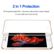 3D Touch Full Coverage Tempered Glass Screen Protector Case Friendly Metal Edge to Edge for iPhone 6/6S/6P/6SP/7/7P/8/8P