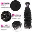 Ishow 7A Top Sale 1 Bundle Indian Virgin Hair Kinky Curly Unprocessed Indian Curly Wave 1Pc Cheap Weave Bundles
