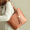 4 Pcs Women's Bags Wooden Beads Tassel Bag Simple Shoulder Bags