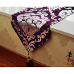 Free Shipping Handcraft Europe Style Table Runner Hot Silver Home Decoration Tablecloth Embroidery Cloth Hotel Villa Wedding