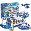 Banbao Building Blocks Intelligence Toy Birthday Gift, Water patrol 8342