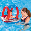 Bestway Baby Float Water Toys with Inflatable Canopy Sunshade Swimming Pool Boat Upgraded Floating Ring