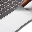 Snowkids Apple Macbook 12 Retina Notebook Film Sticker Set Sticker Cover TPU Transparent Keyboard Film 3M Laptop Film Silver Set