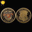 "U.S. Marine corps has issued ""war dog"" commemorative COINS in honor of the American coin collection"