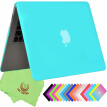 "UESWILL Smooth Soft-Touch Matte Frosted Hard Shell Case Cover for MacBook Air 11"" (Model: A1370/A1465)- Turquoise"