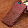 Genuine Leather Phone Case For Xiaomi Note 3 Case Crocodile Texture and Oil wax leather Back Cover For Redmi 3 4 4X 5 5A Plus