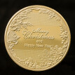 1Pcs Gold/silver Merry Christmas coin Santa Claus coin Non-currency Coins exquisite holiday party gifts