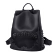 PADIEOE bag female 2018 new bag backpack small backpack Korean fashion trend port wind small fresh SO171090 black