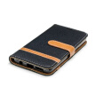 "BEFOSPEY Mixed Colors Denim PU Leather+Soft TPU Card Slot Stand Wallet Case For Samsung Galaxy S9(2018)(5.8"")"