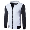 Zogaa Men's Jacket Casual Stand Collar Splice Fashion