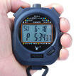 Tianfu stopwatch timer running table professional sports competition multi-function electronic stopwatch PC2810 double row 10 upgrades