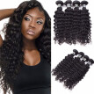 Amazing Star Malaysian Virgin Hair Deep Wave 4 Bundles Human Hair Extensions Curly Weave Hair Bundles 4Pcs/Lot Soft Bouncy