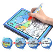 2*Book 21*17cm Magic Water Drawing Book with Pen  Painting Card Coloring Book  Educational Toys Doodle Board (safety/Can Re-use)