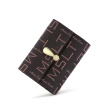 MashaLanti Korean printing multi-function card bag purse L005 brown