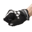 2018 Hot Men Women Glove Sport Racing Motorcycle Gel Bike Bone Skeleton Bicycle Full Finger Cycling Gloves
