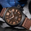 Curren Watches 2018 watch men top brand luxury relogio masculino Quartz Wristwatch leather band 8270