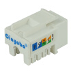 Cinyobo CYB-MK-C500 network module RJ45 interface network socket module 8-core super five network module super five types of hand-operated modules
