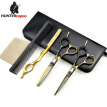 HT9173 Professional Hair Scissors Set 6 inch Barber Shears Kit Thinning Scissor and Cutting Scissor