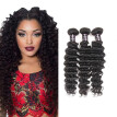 Hot Sale 7A Malaysian Deep Wave Virgin Hair 100% Unprocessed Malaysian Virgin Hair Cheap Malaysian Deep Wave Human Hair 3 Bundles
