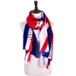 new big size British flag scarf for women top design plus size cotton warm ponchos and capes muslim hijab bufanda wrap