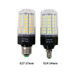 110V~265V E27 LED Lamp E14 LED Light 220V 110V LED Bulb 8.8W 10.2W 11.2W LEDs Corn Light SMD 5730 No Flicker Lights