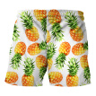 2018 summer new Ouma swim trunks creative pineapple print beach pants tide brand street casual large size pants men