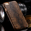 For 6 6s 4.7/ 6s Plus 5.5 Sexy Snake Animal Case for Apple iphone 6 6S Plus PU Leather Back Phone Cover Elegant Funny