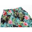 Ouma beach pants 2018 summer new men's quick-drying pants 3D plant print swimming trunks casual tide brand men's clothing