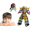 44Pcs All Magnetic Building Blocks Construction Children Toys Educational Block Magnetic Building Blocks Set Toys Construction Edu