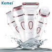 Kemei 7202 5 in 1 depilator Multi-function epilator female razor Cleaning products For woman's face Electrical Epilators