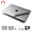 Snowkids Apple Macbook Pro13 touch bar notebook foil keyboard film set sticker shell protective film 3M computer film gray suit (gift cleaning)