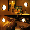 Datouren charging induction lamp led night light bedroom from night baby feeding sleep light luminous small lamp can be hanged can be magnetic