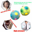Luminous Spheric Magic Cube Rainbow Ball Plastic Fidget Cube Toy Fun Puzzle Toys Stress Reliever Magic Ball