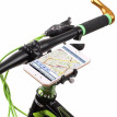 GUB Anti-Slip Bicycle Adjustable Phone Holder Mount Bracket Handlebar Clip Stand for 3.5-6.2inch Smart Mobile Phone