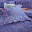 Baolisi 4 Piece European Style  Jacquard Geometric Duvet Cover Set Full Queen Size