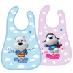 small white bear children's water to eat bibs 09297 baby saliva pocket