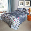 Twin/King/Queen Size Size 3D Flowers Bedding Set Quilt Cover Bedspread 2 Pillowcases For Home & Living
