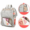 Maternity Nappy Bag All-match Baby Bag Leisure Designer Nursing A Bag Mother Baby Diaper Bag Fashion Mummy Backpack