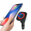 Fast Wireless Car Charger Stand 5W Car Mount Phone Holder for iPhone X/8/8 Plus/Samsung Galaxy S8/S8+/S7/S6 Edge+/Note 5/LG and ot