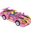 COGO Pink roadster Building blocks toy for girls (256 pcs) - Dream Girls series - model 14506