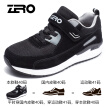 Zero degree (ZERO) men and women sports outdoor middle-aged walking slip shock absorption casual old shoes Y73100 female models black 35